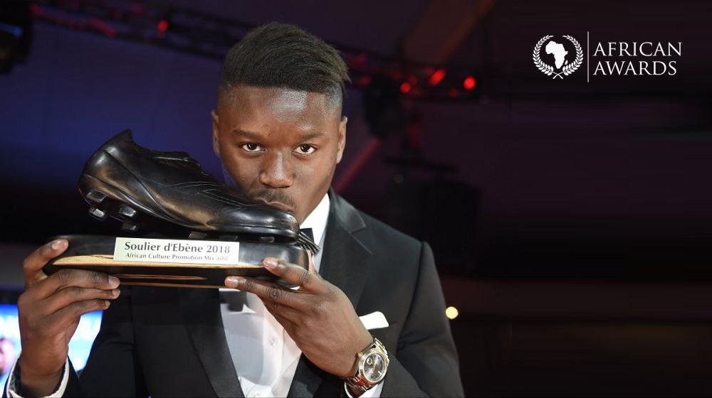 Anthony Limbombe, Soulier d'Ébène 2018