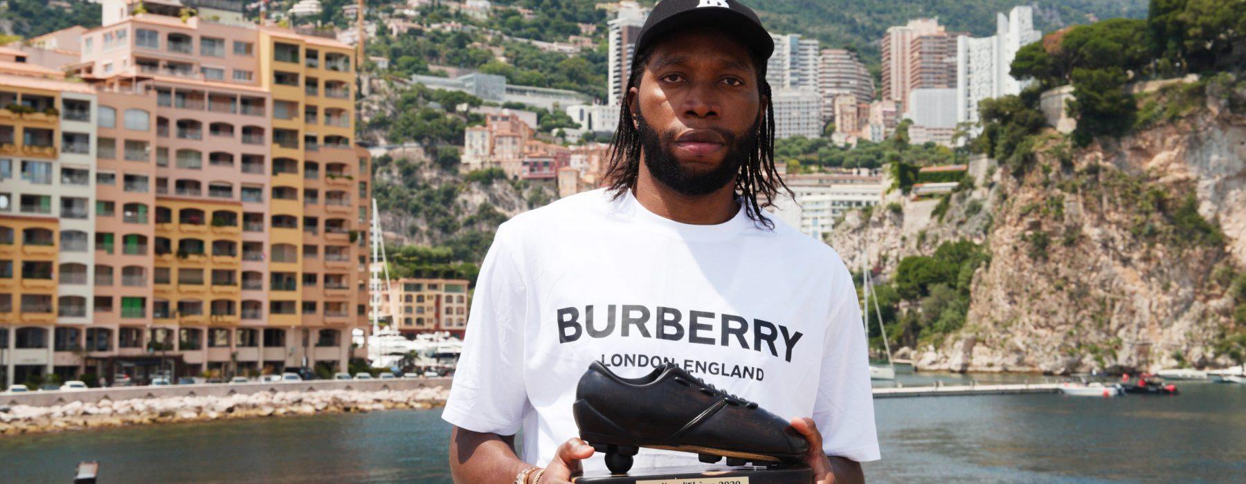 Dieumerci Mbokani élu Soulier d'Ébène  2020